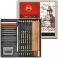 Koh-I-Noor Gioconda Art-Set - 24 Teilig