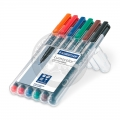 Staedtler Lumocolor Permanent Set - 6 M