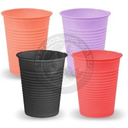 Einweg-Kunststoff-farbige Gläser